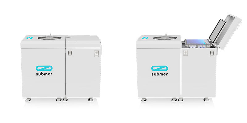 Submer MicroPod Closed and Open